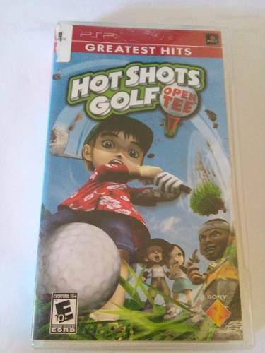 Hot Shots Golf Open Tee Psp Playstation Trqs