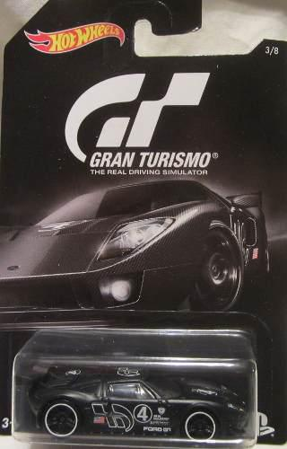 Hot Wheels 2016 Gran Turismo Ford Gt Lm 3/8, Negro