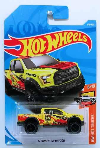 Hot Wheels 2018 50º Aniversario Hw Hot Trucks 17 Ford F-150