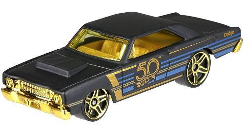 Hot Wheels 50º Aniversario De La Serie Black & Gold Special