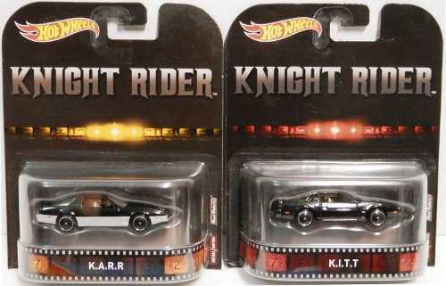 Hot Wheels Retro Knight Rider Juego De 2 Variaciones: Kitt &