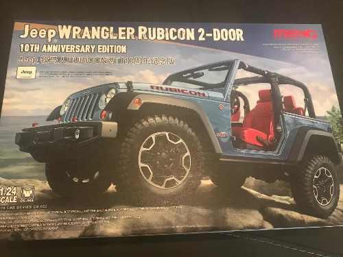 Jeep Wrangler Rubicon Para Armar Escala 1:24