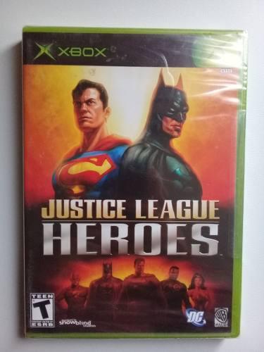 Juego Xbox Clásico Justice League Heroes Nuevo Sellado