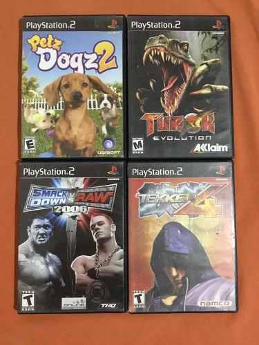 Juegos Ps2, Wii, Xbox Clásico Y Psp.Wwe, Starwars, Halo 2.