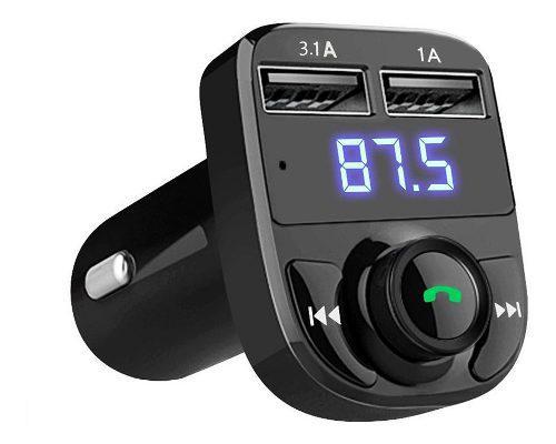 Kit De Coche Manos Libres Bluetooth Inalámbrico Transmisor