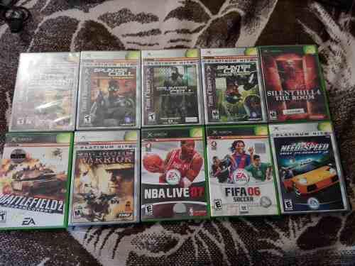 Lote Juegos Xbox Clasico