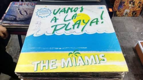 Lp The Miamis Vamos A La Playa En Acetato,long Play