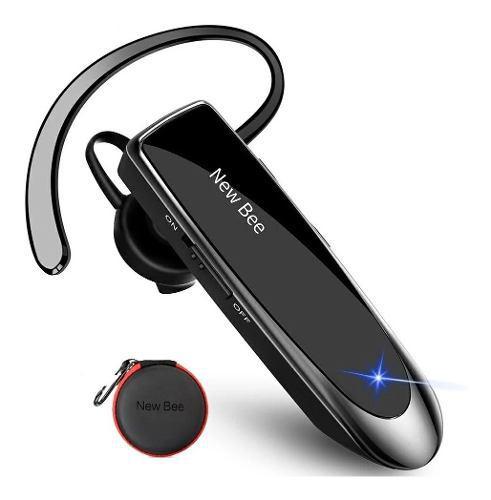 Manos Libres Bluetooth New Bee + Audífono Estereo + Estuche