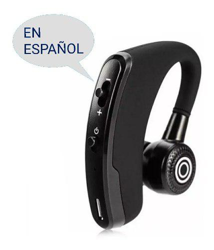 Manos Libres V9 Español Estuche Azul Vinipiel Envío Gratis