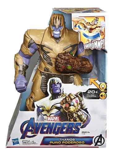 Marvel Avengers Figura Deluxe Thanos