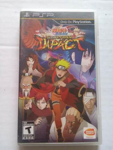 Naruto Shippuden Ultimate Ninja Impact Psp Playstation Trqs