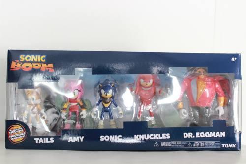 * Pack De 5 Figuras Sonic Boom Sonic The The Hedgehog Tomy