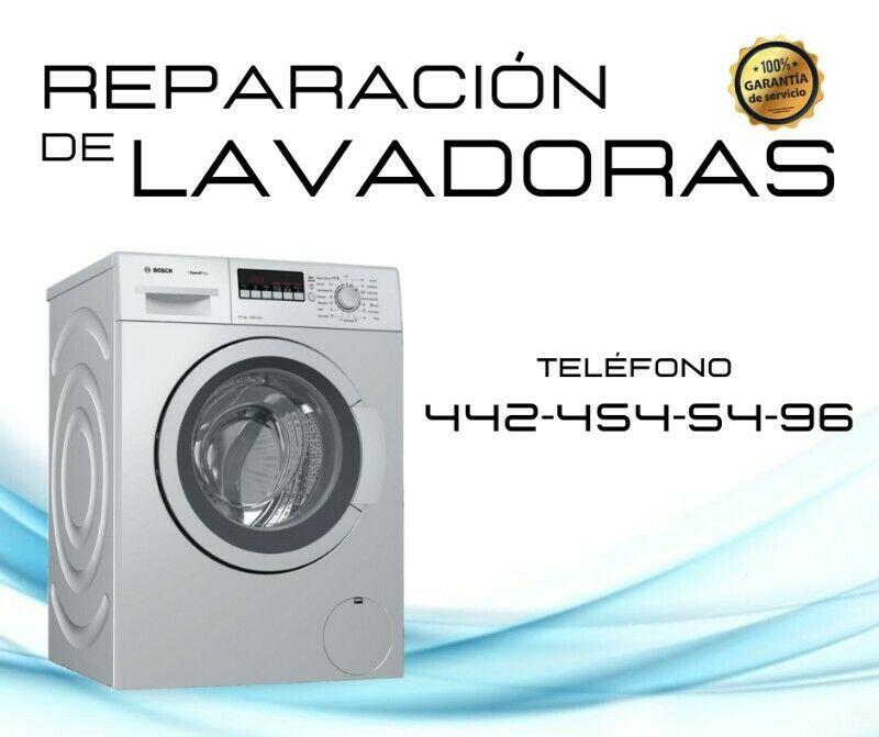 Reparación de lavadoras en Querétaro