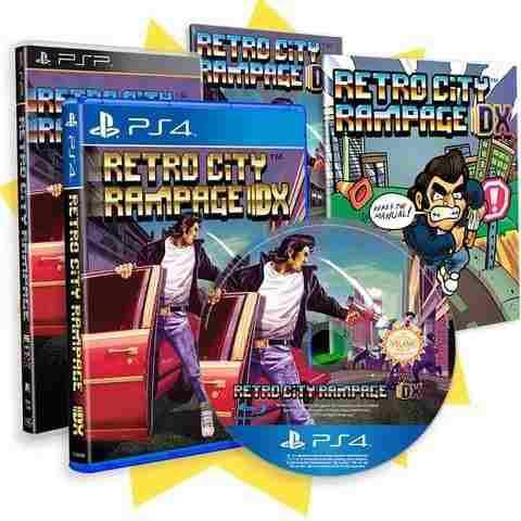 Retro City Rampage Dx Limited Ps4 Retail + Psp Bonus Nuevo