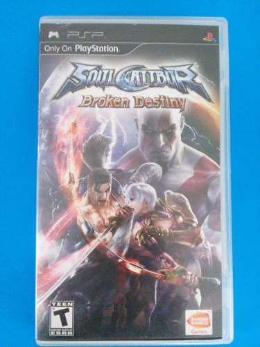 Soul Calibur Broken Destiny Psp Playstation Trqs Soul Calibu