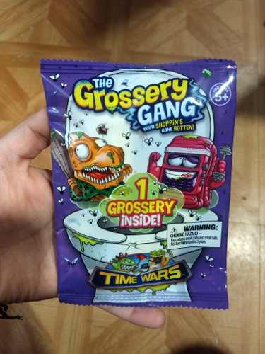 The Grossery Gang Time Wars Sobre Con 1 Figura
