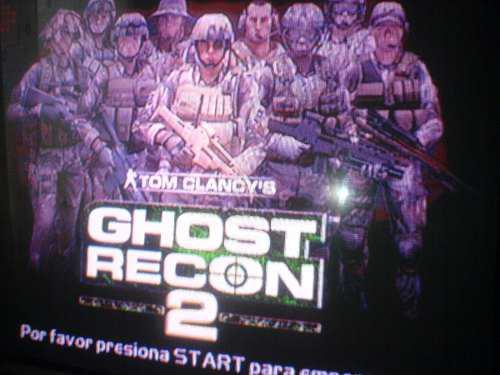 Xbox Clasico Juego Ghost Recon 2 Compatible Con La X360