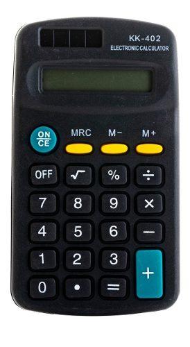 40 Piezas Calculadora Kk-204 Escolar De 8 Dígitos