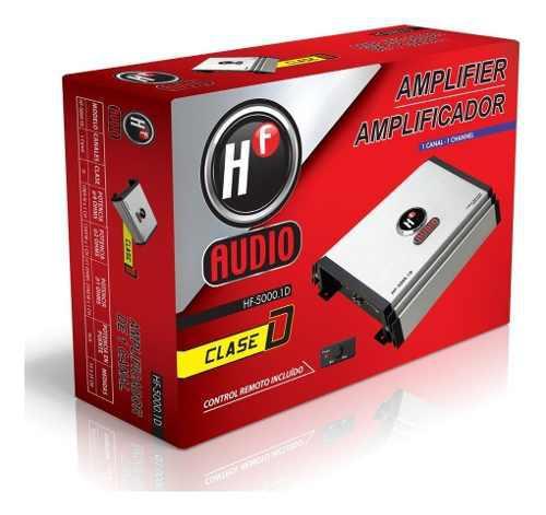 Amplificador Clase D De 5000 Watts