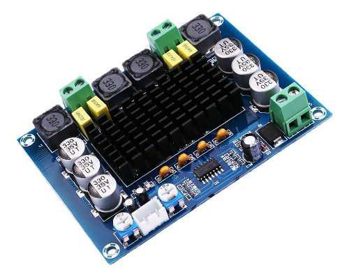 Amplificador De Potencia Audio Digital Estéreo De Doble