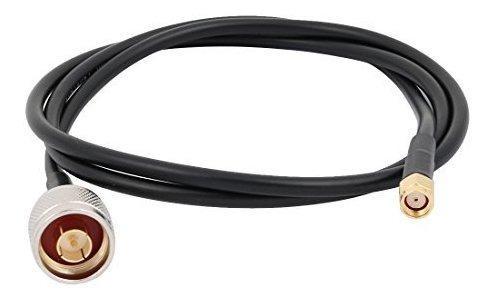 Conector Macho Uxcell Ntype A Rpsma Antena Hembra Cable Flex