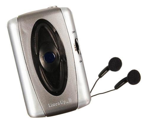 Escuchar Audífonos Sonido Amplificador De Voz Ayuda Tono