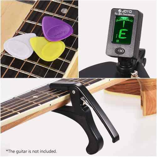 Juego De Accesorios De Guitarra Para Principiantes Con
