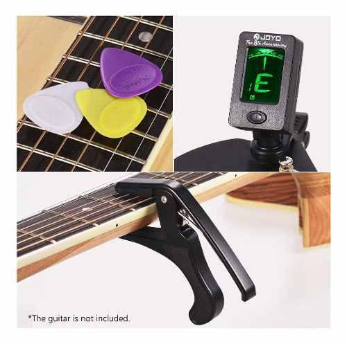 Juego De Accesorios De Guitarra Para Principiantes Con Clip