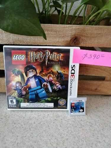 Juego De Nintendo 3ds Lego Harry Potter Years 5-7