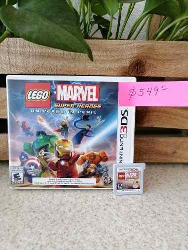 Juego De Nintendo 3ds Lego Marvel Super Héroes