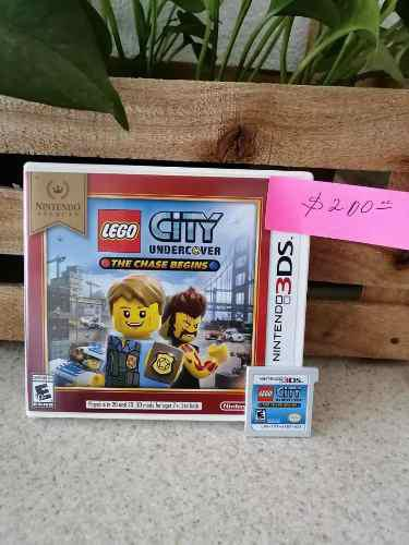 Juego Nintendo 3ds Alegó City Undercover