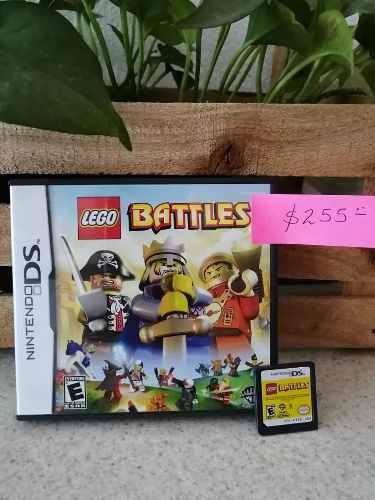 Juego Nintendo 3ds Lego Battles
