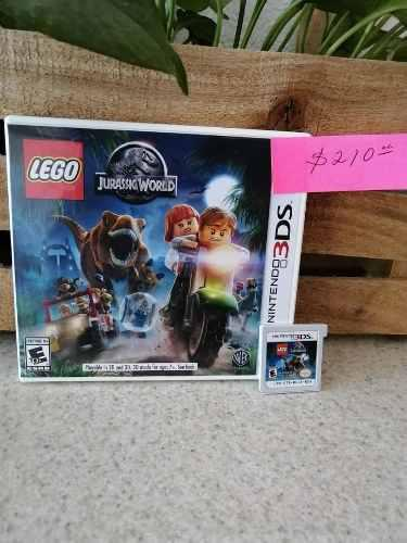 Juego Nintendo 3ds Lego Jurassic World