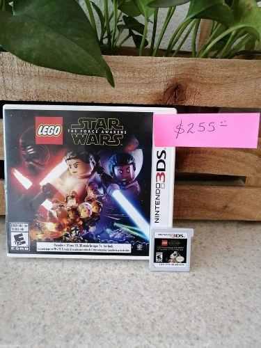 Juego Nintendo 3ds Lego Star Wars