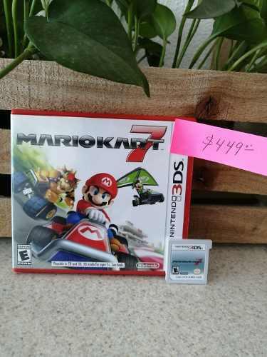 Juego Nintendo 3ds Mariokart 7