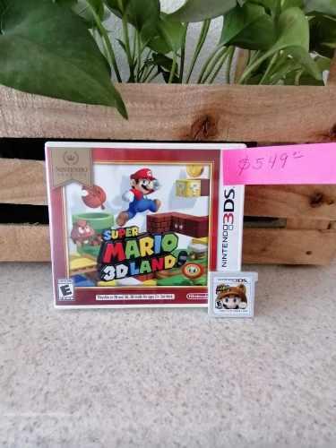 Juego Nintendo 3ds Súper Mario 3d Land