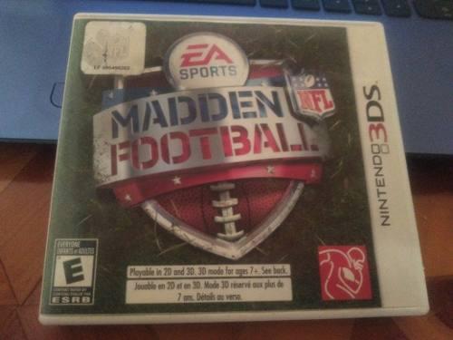 Juego Para Nintendo 3ds Manden Football