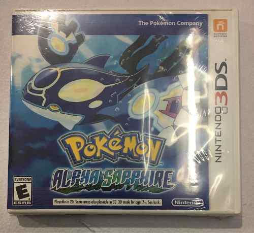 Juego Pokemon Alpha Sapphire Nintendo 3ds Nuevo Sellado