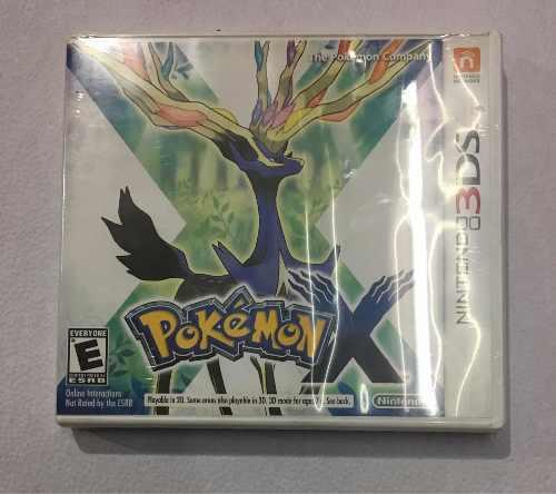 Juego Pokemon X Nintendo 3ds Nuevo Sellado