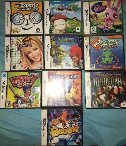 Juegos Para Nintendo Ds Originales En Excelentísimo Estado.