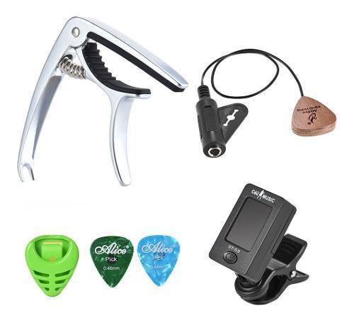 Kit De Accesorios Para Guitarra Ac?stica