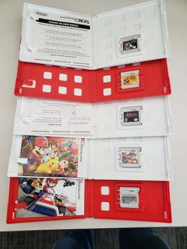 Lote 10 Juegos Nintendo 3ds Zelda, Mario, Smash, Sports