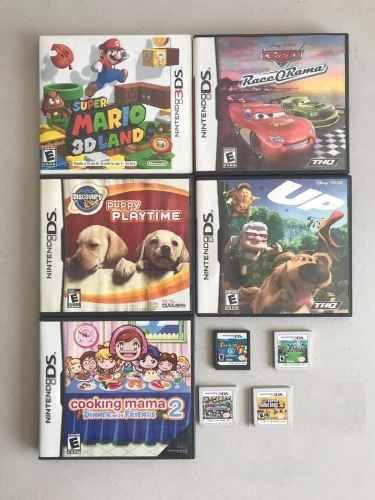 Lote De 10 Juegos Nintendo Ds Y 3ds