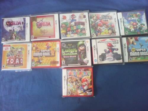Lote Juegos De 3ds Y Nds En Español