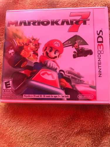 Mario Kart 7 Juego Para Nintendo 3ds
