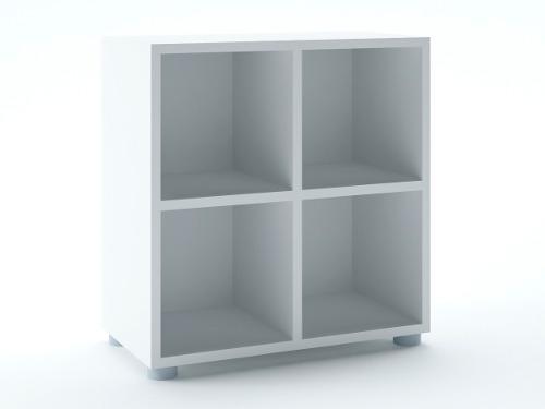 Mueble Librero Para Sala Moderna O Recamara Nulbshf-b