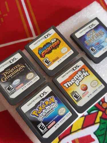 Nintendo Ds 5 Juegos, Envío Gratis Pokemon Diamond