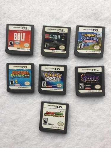Pokemon Diamond Versión Para Nintendo Ds Más Otros Juegos