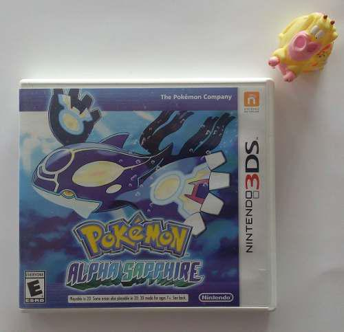 Pokémon Alpha Sapphire Nintendo 3ds Juegazo!