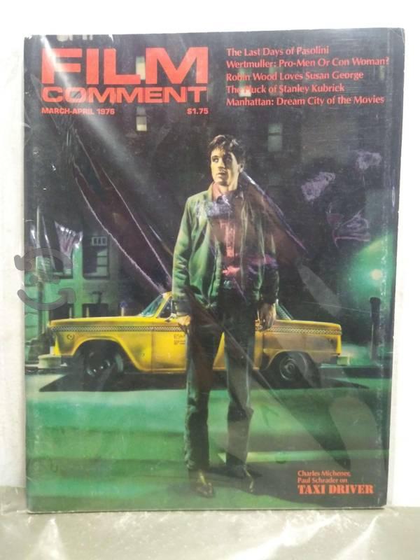 Taxi driver revista film comment march - april 197